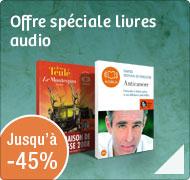 Offre spéciale livres audio