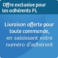 Offre Adherents - Livraison Offerte
