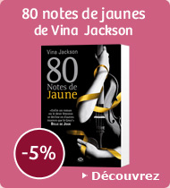 80 notes de jaunes de Vina  Jackson