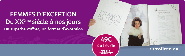 L&rsquo;ouvrage sublime Femmes d&rsquo;exception