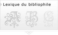Lexique du bibliophile