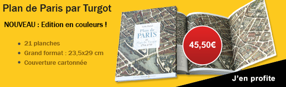 Plan de Paris par Turgot