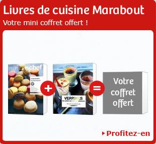 Livres de cuisine Marabout