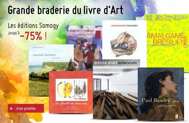 Grande braderie du livre d'Art jusqu'à - 75%