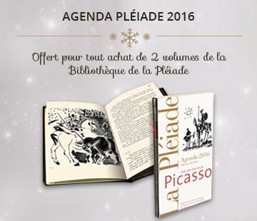 La Pléiade : votre agenda offert