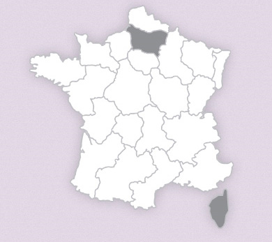 carte france