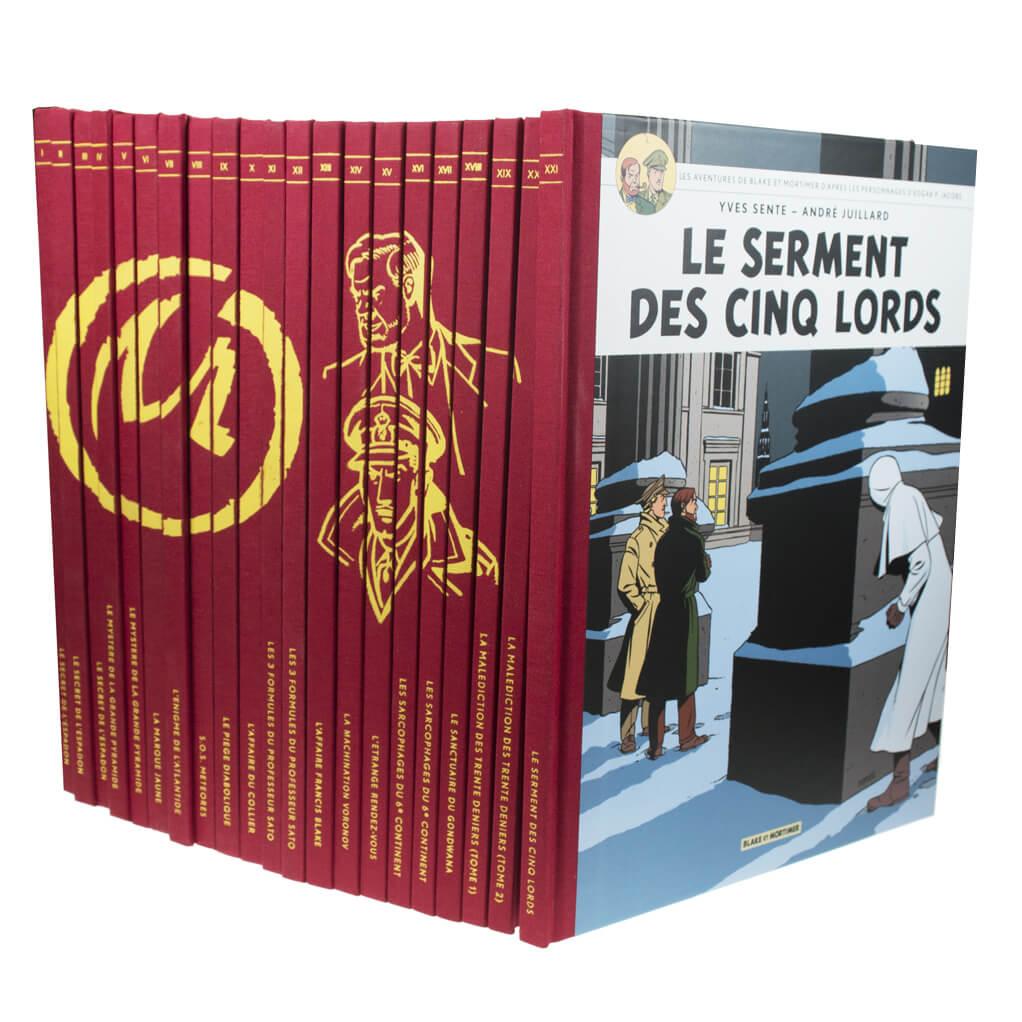 Blake et Mortimer - Intégrale collector 23 volumes