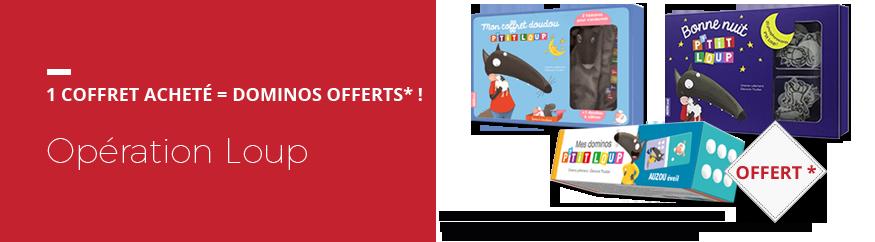 Opération Loup : 1 jeu de dominos offert* !
