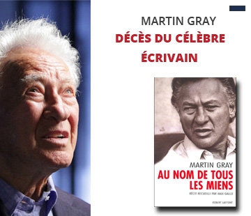 Décès de Martin Gray