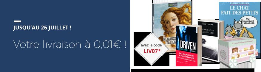 Votre livraison en France métropolitaine à 0,01€ !