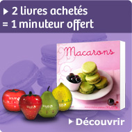 2 livres achet&eacute;s = 1 minuteur offert