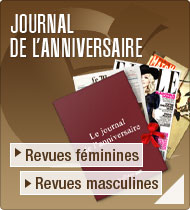 Journal de l&rsquo;anniversaire