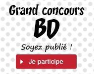 Grand concours BD : soyez publié !