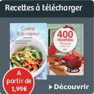 Recette &agrave; t&eacute;l&eacute;charger