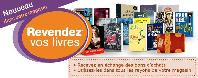Revendez vos livres