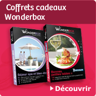 Coffrets cadeaux Wonderbox