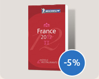 Guides Michelin France 2012