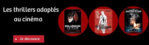 Les thrillers adaptés au cinéma
