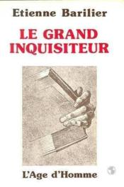Le Grand Inquisiteur - Couverture - Format classique