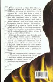 Jules Cesar T03 Le Crepuscule Du Dieu - 4ème de couverture - Format classique