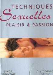 Techniques Sexuelles Plaisir Et Passion - Couverture - Format classique