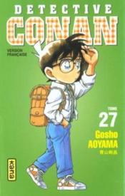 Detective Conan T27 - Couverture - Format classique