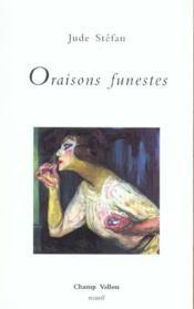 Oraisons Funestes - Intérieur - Format classique