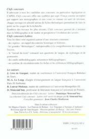 Ester Et Athalie De Racine - 4ème de couverture - Format classique