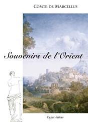 Souvenirs de l'orient - Intérieur - Format classique