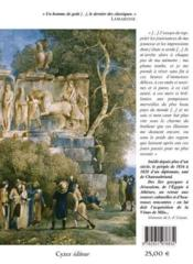Souvenirs de l'orient - 4ème de couverture - Format classique