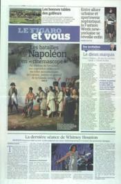 Figaro Et Vous (Le) N°21009 du 17/02/2012 - Couverture - Format classique