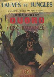 Ouoro, Le Chimpanze - Couverture - Format classique