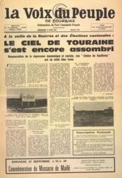 Voix Du Peuple De Touraine (La) N°1361 du 27/08/1967 - Couverture - Format classique