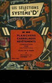 Planchers Carrelages Revetements - Construction - Pose - Entretien - Couverture - Format classique