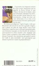 L'Aiguille Creuse - 4ème de couverture - Format classique