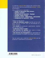Enseignement De Specialite Physique Terminale S - 4ème de couverture - Format classique