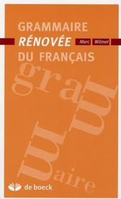 Grammaire rénovée du français - Intérieur - Format classique
