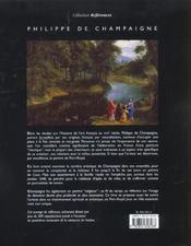 Philippe De Champaigne - 4ème de couverture - Format classique