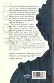 Auguste T01 L'Heritier - 4ème de couverture - Format classique