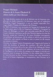 L'Histoire De La Fausse Elisabeth Ii - 4ème de couverture - Format classique