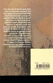 Animos - 4ème de couverture - Format classique