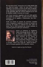 La Conquete Gauloise - 4ème de couverture - Format classique