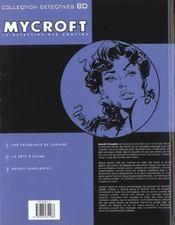 Mycroft inquisitor t.3 ; neiges sanglantes - 4ème de couverture - Format classique