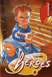 Heroes T.2 - Couverture - Format classique