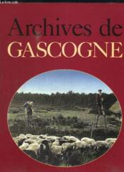 Archives de gascogne - Couverture - Format classique