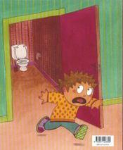 Il y a un monstre dans le toilettes - 4ème de couverture - Format classique