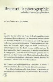 Brancusi/La Photographie - Couverture - Format classique