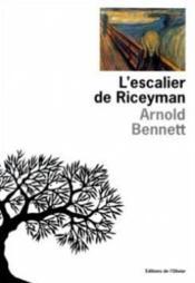 Escalier De Riceyman (L') - Couverture - Format classique