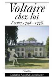 Voltaire Chez Lui - Couverture - Format classique