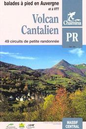 Volcan cantalien balades et rando a pied & vtt - Intérieur - Format classique